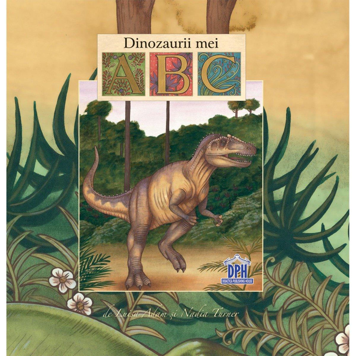Carte Abc-ul dinozaurilor, Editura DPH