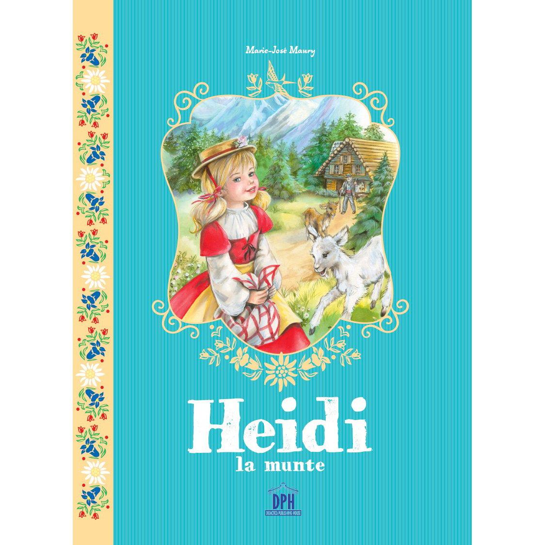Carte Heidi la munte, Editura DPH imagine 2021