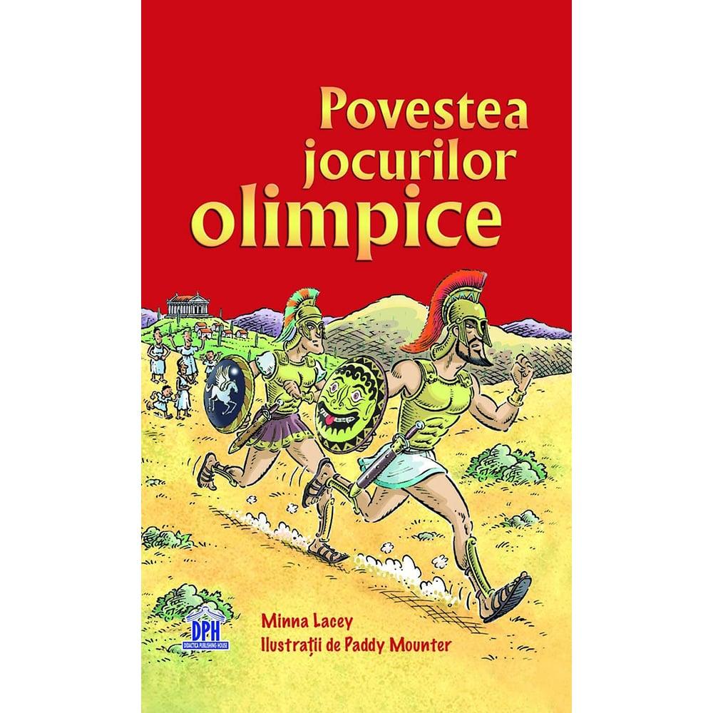 Carte Povestea Jocurilor Olimpice, Editura DPH