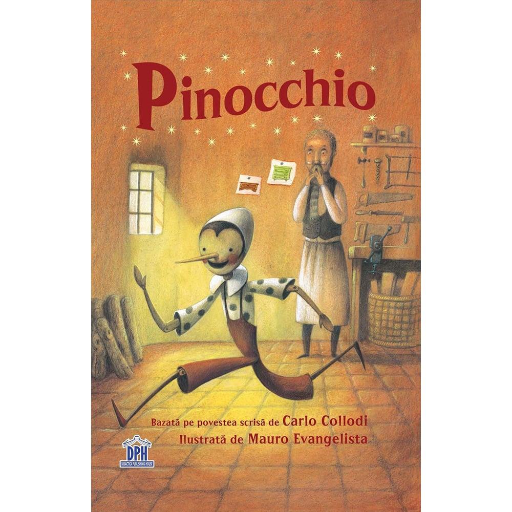 Carte Pinocchio, Editura DPH imagine 2021