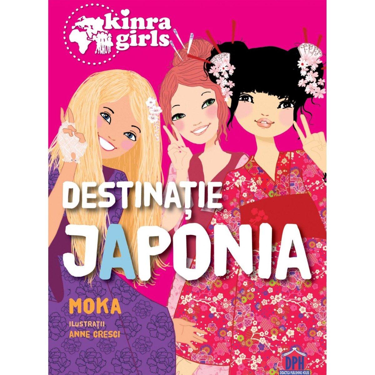 Carte Kinra vol. VI, Destinatie Japonia, Editura DPH imagine