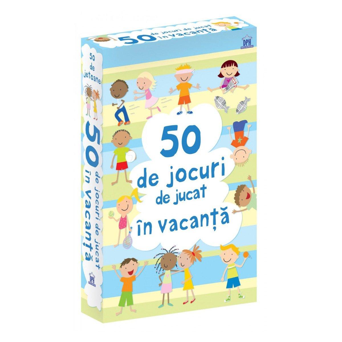 50 de jocuri de jucat in vacanta, Editura DPH