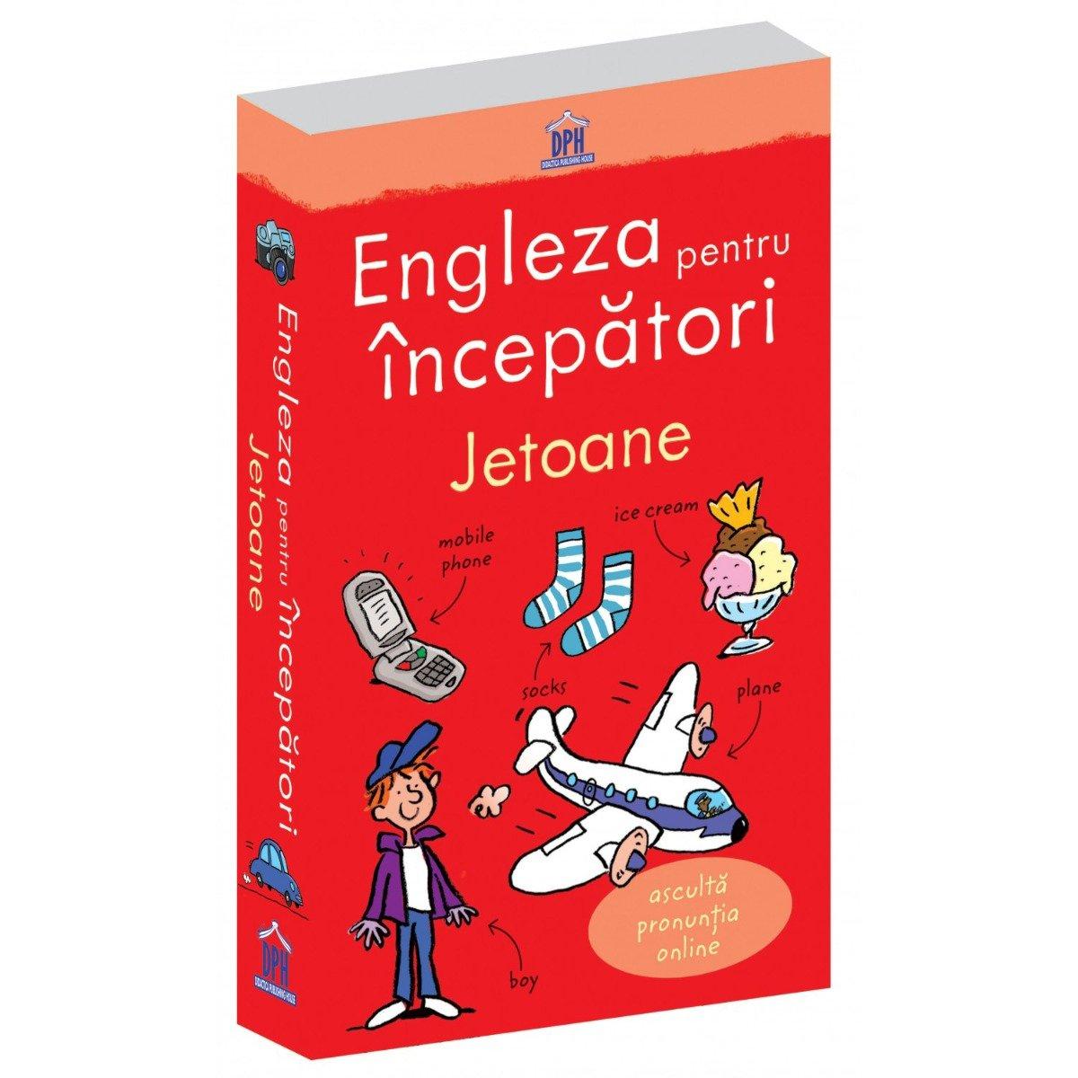 Jetoane Engleza pentru incepatori - format nou, Editura DPH