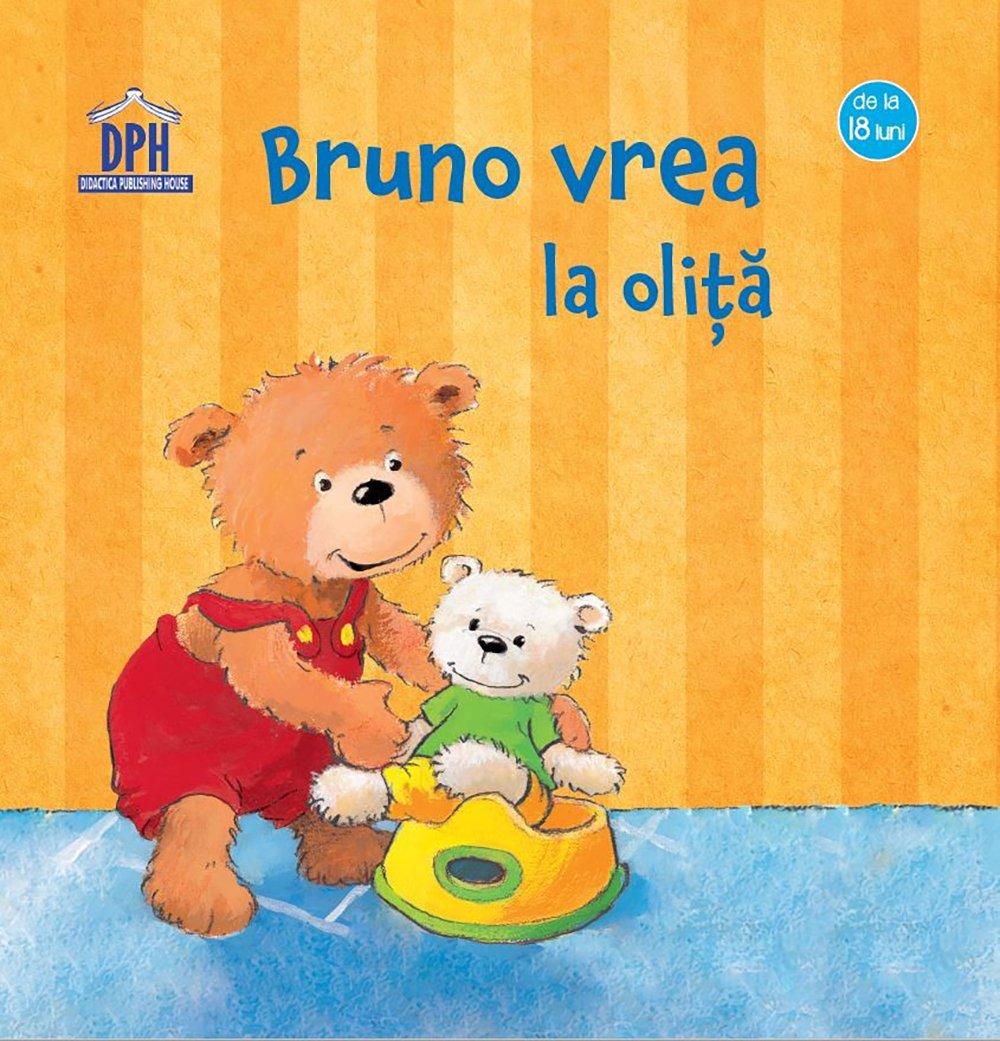 Carte Bruno vrea la olita, Editura DPH