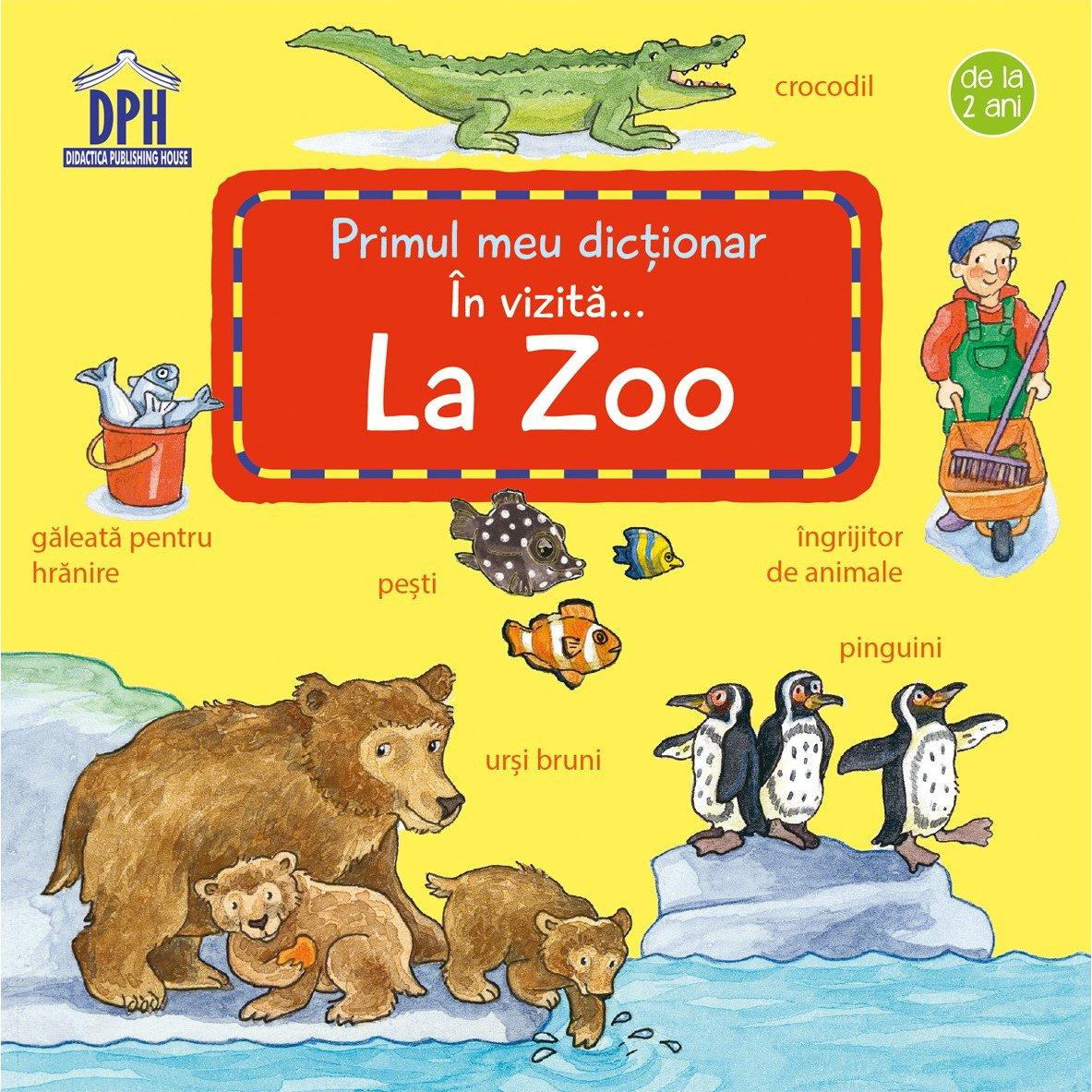 Carte In vizita... la Zoo, Editura DPH