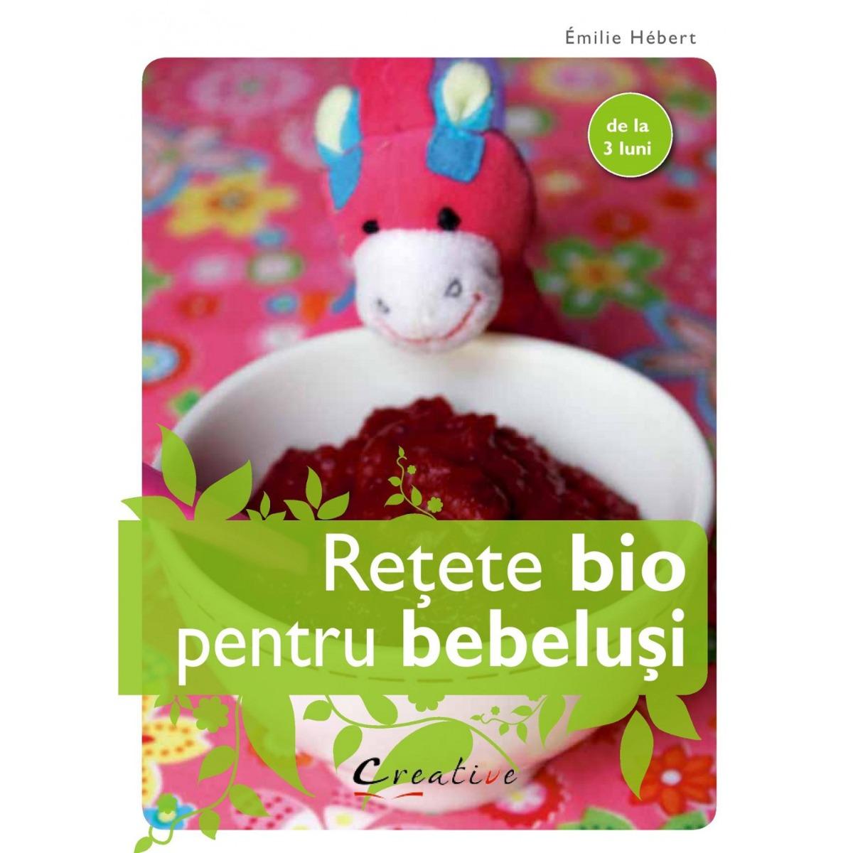 Carte Retete bio pentru bebelusi, Editura DPH