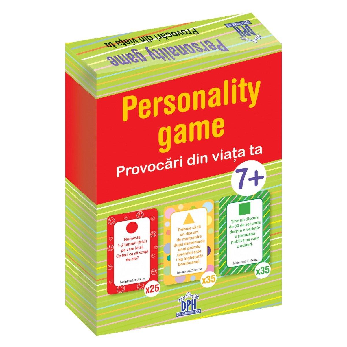 Joc educativ Editura DPH, Personality Game, Provocari din viata