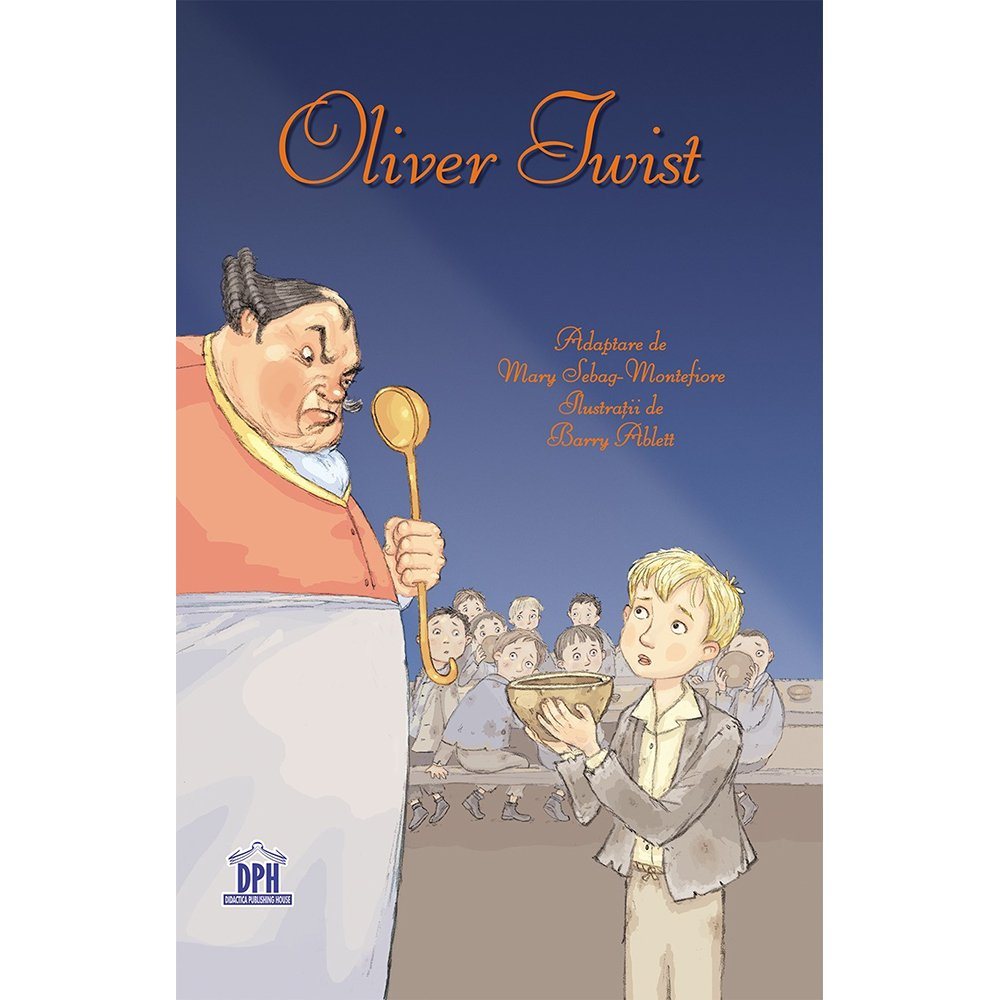 Carte Oliver Twist, Editura DPH imagine 2021