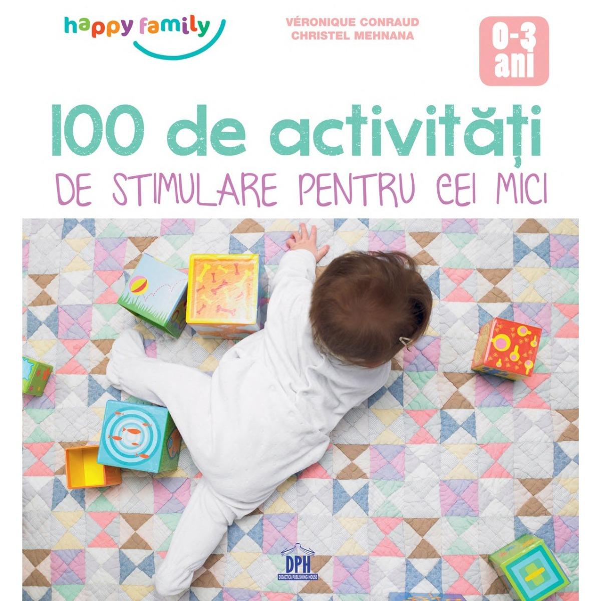 100 de activitati de stimulare pentru cei mici, Editura DPH