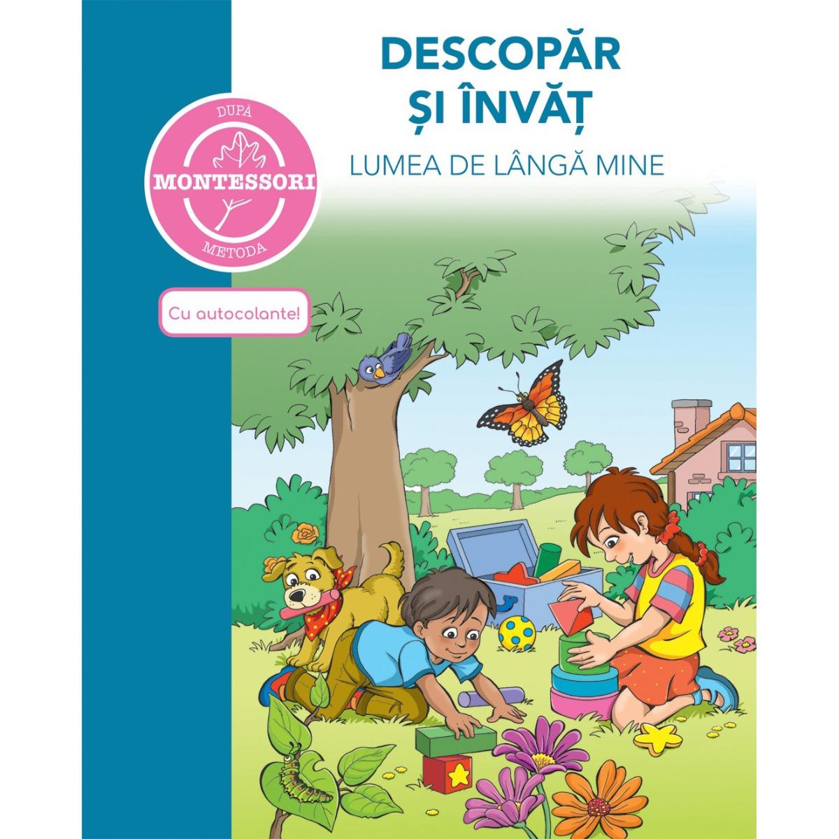 Carte Descopar si invat lumea de langa mine - dupa metoda Montessori, Editura DPH imagine 2021