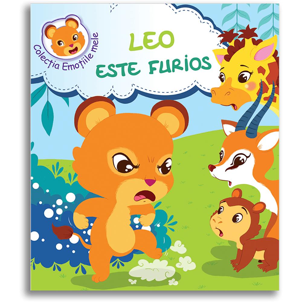 Carte Leo este furios, Editura DPH