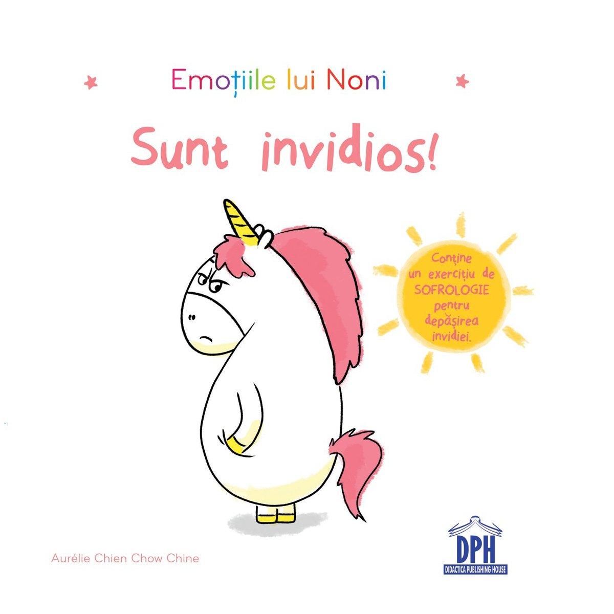 Carte Emotiile lui Noni - sunt invidios, Editura DPH imagine 2021
