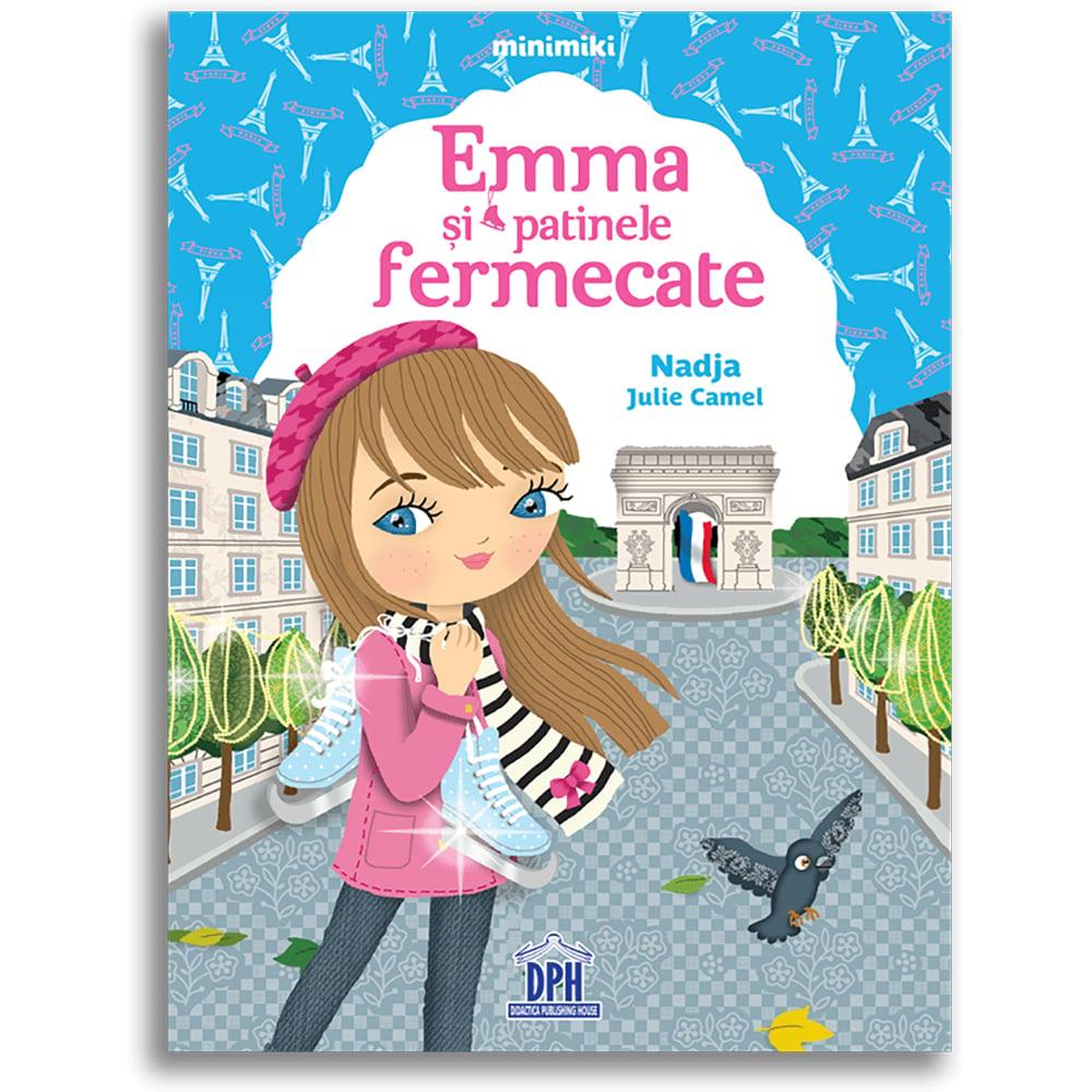 Carte Emma si patinele fermecate, Editura DPH