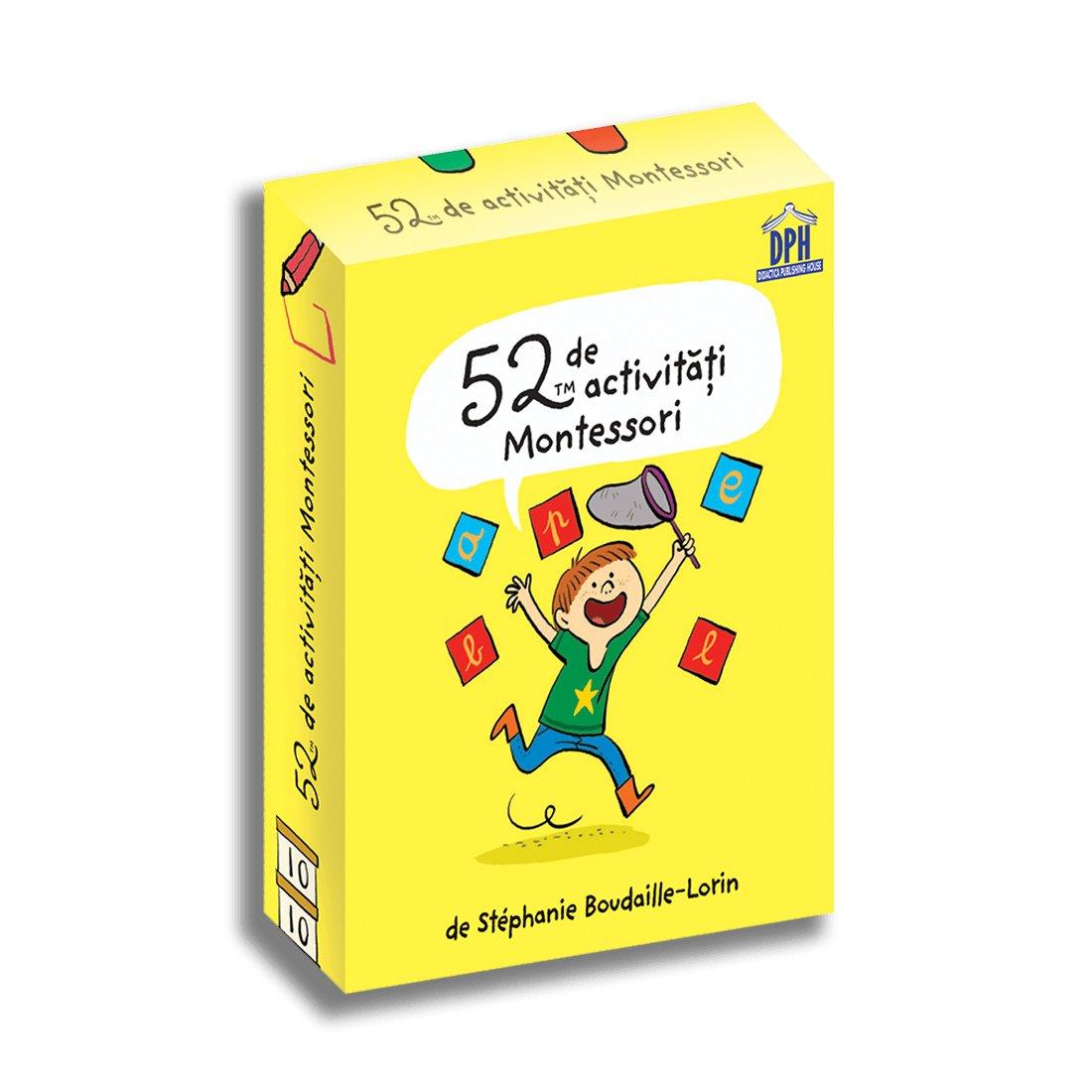 52 de activitati Montessori, Editura DPH