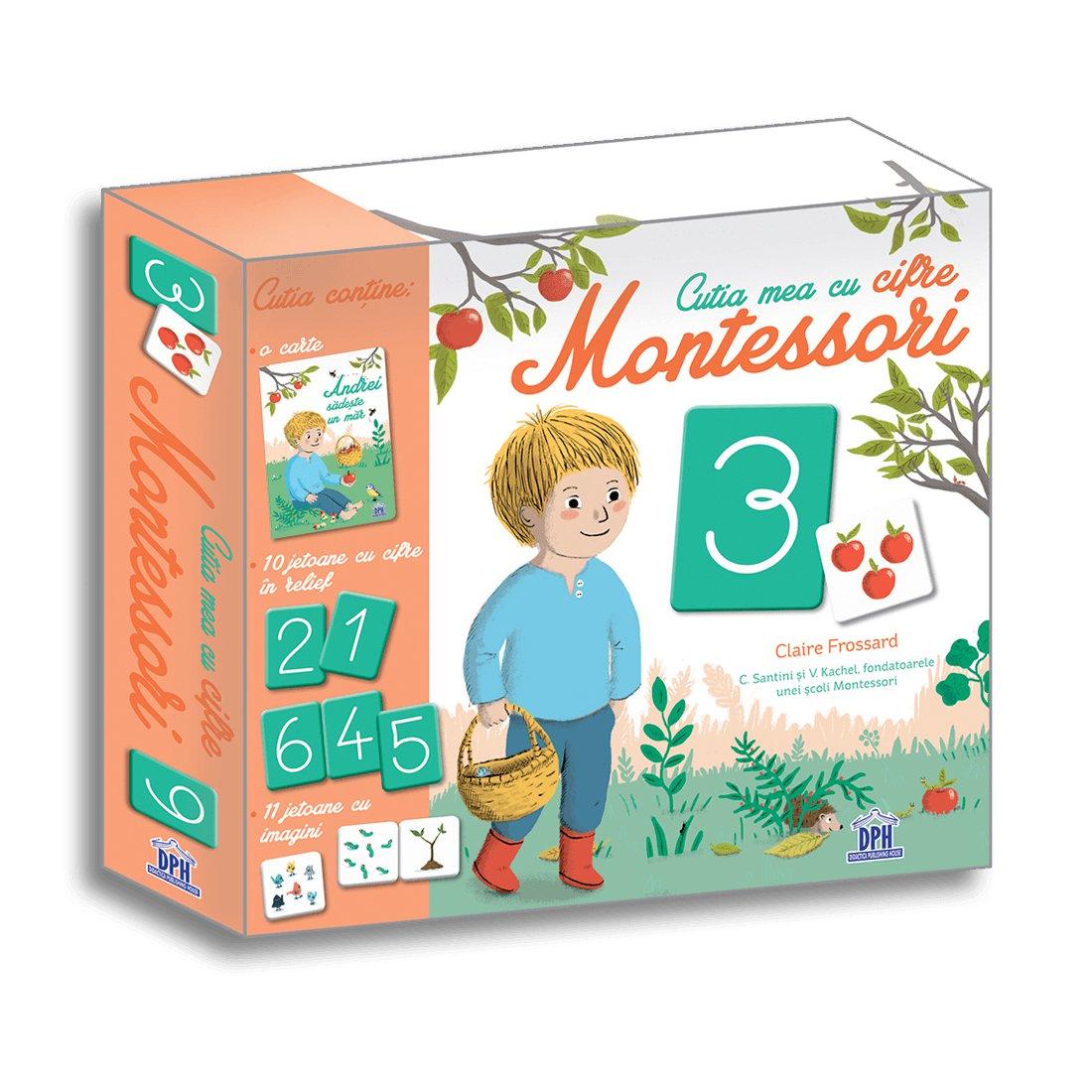 Cutia mea cu cifre Montessori, Editura DPH imagine 2021