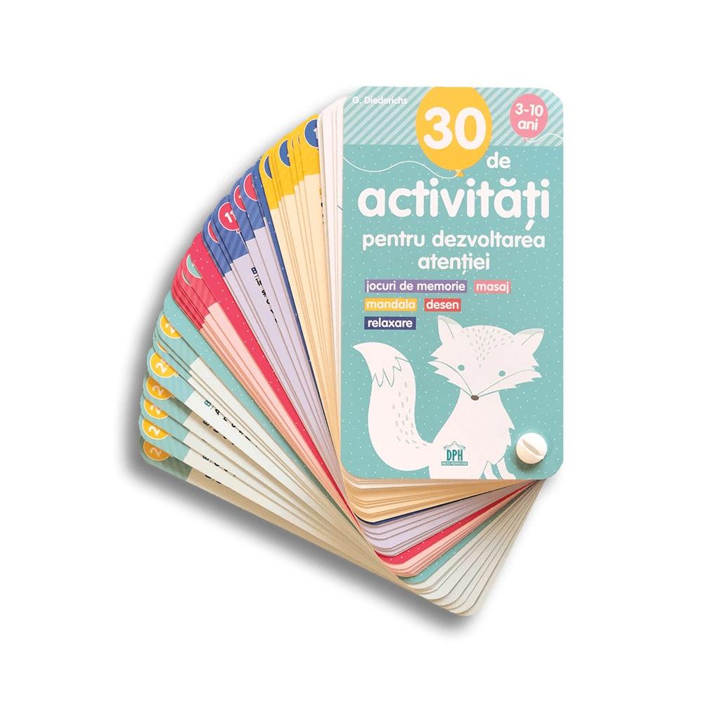 Carte 30 de activitati pentru dezvoltarea atentiei, Editura DPH