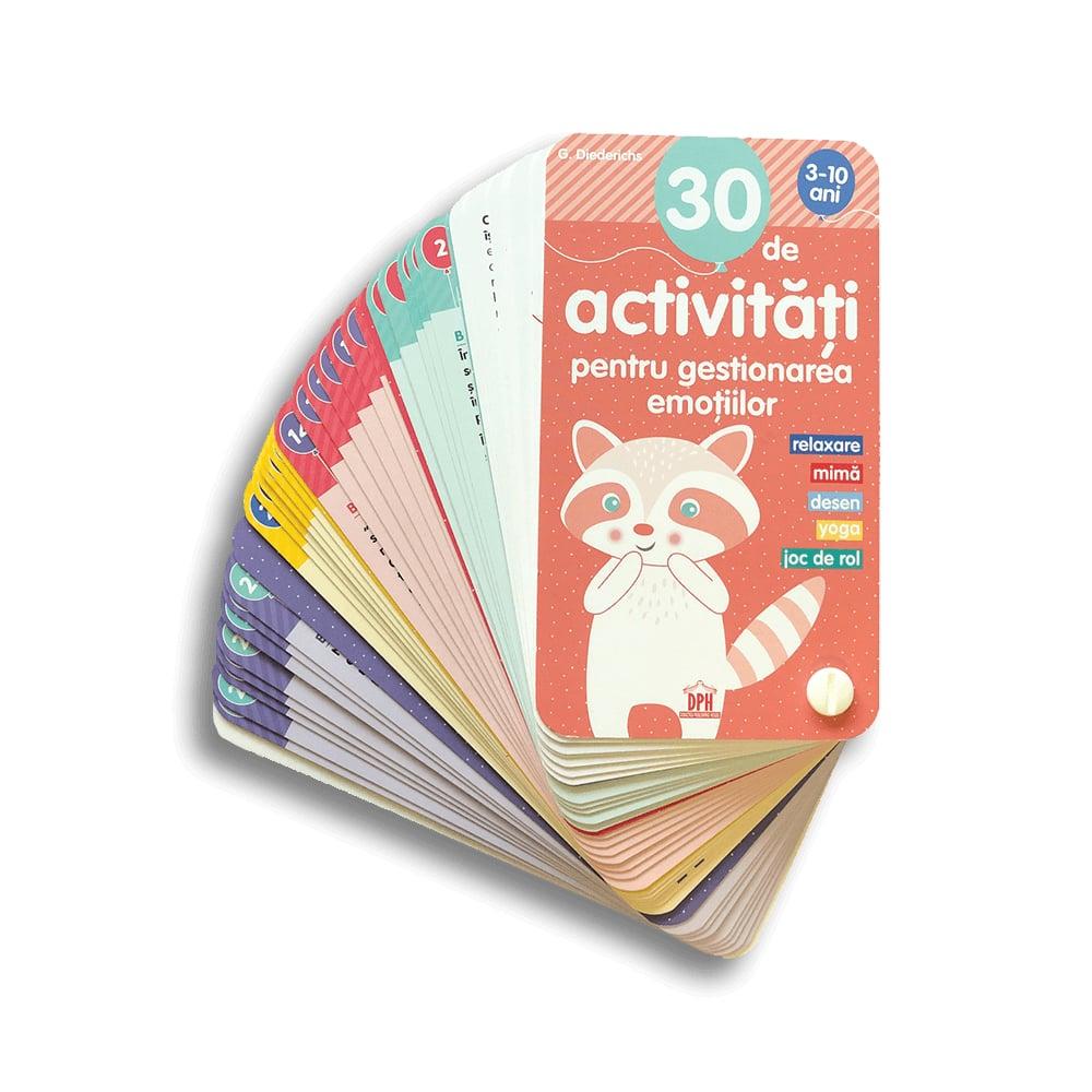 Carte 30 de activitati pentru gestionarea emotiilor, Editura DPH