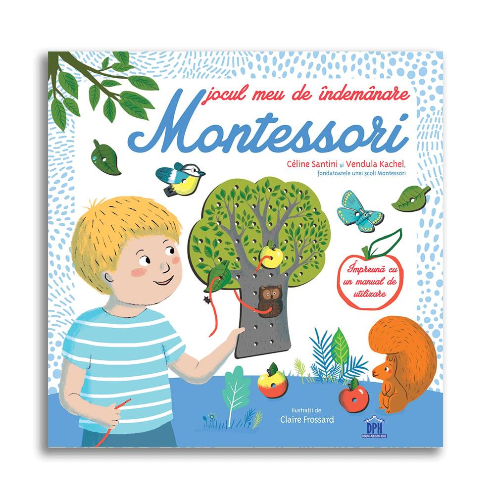Jocul meu de indemanare Montessori Editura DPH imagine 2021