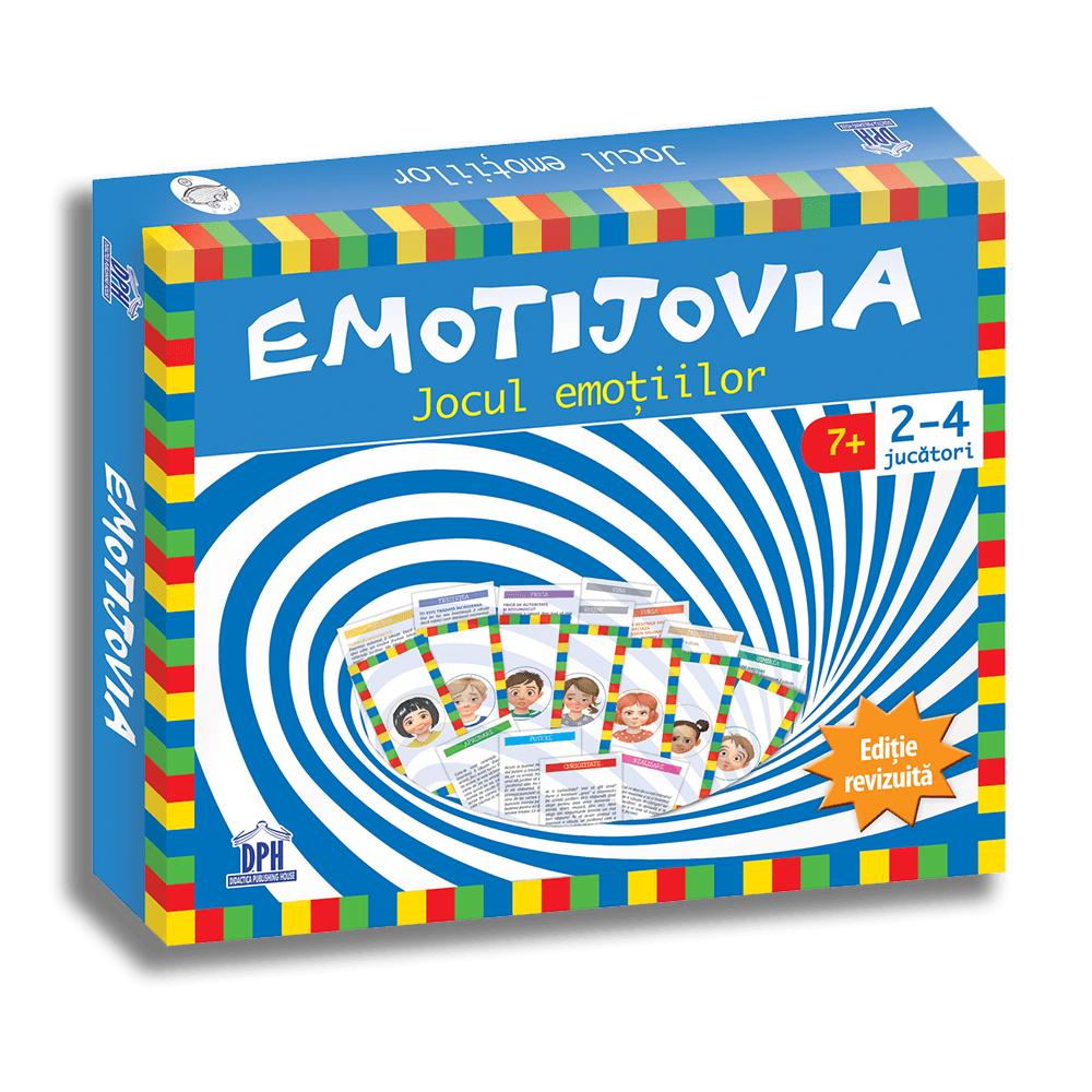 Joc educativ Emotijovia, Editura DPH
