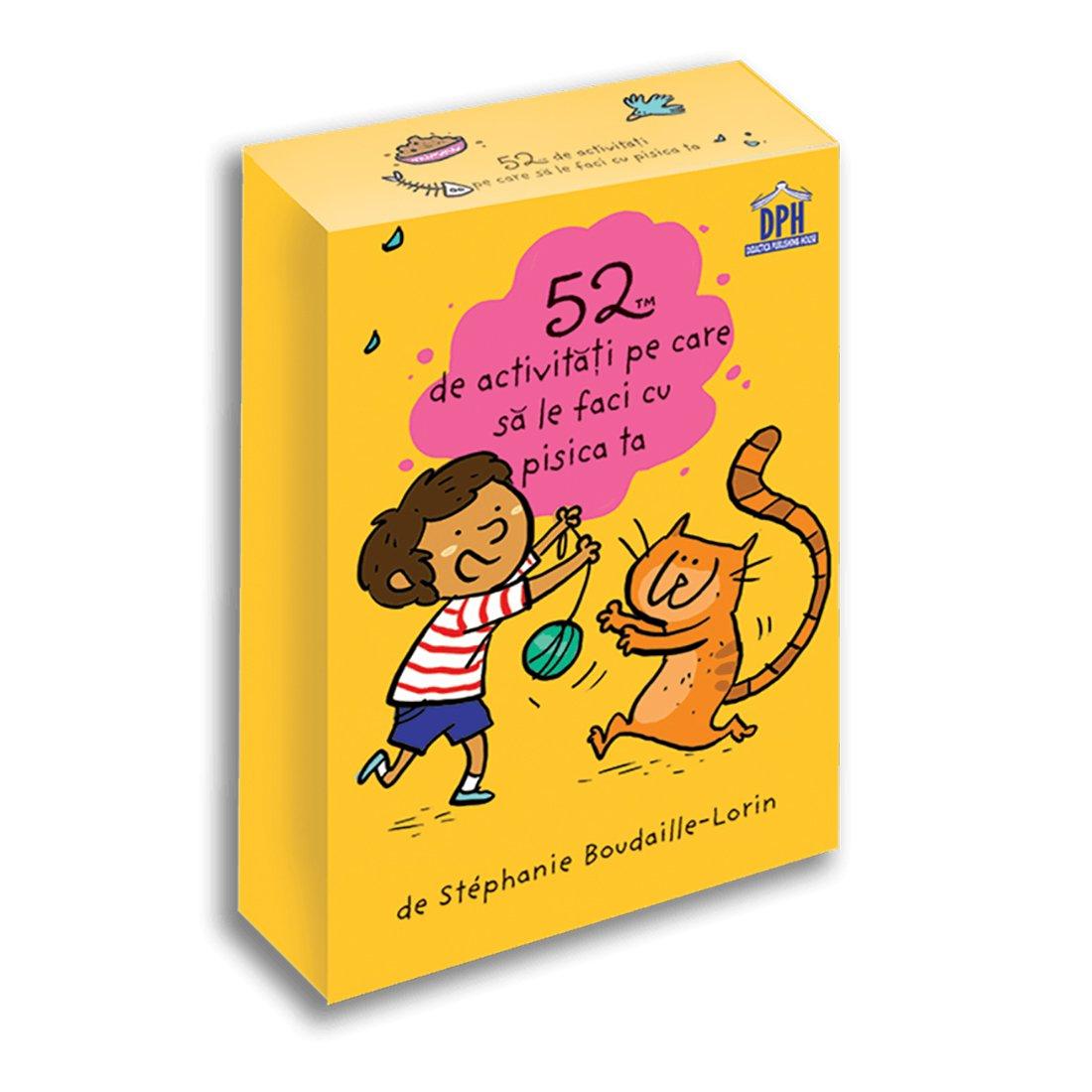 52 de activitati pe care sa le faci cu pisica ta, Editura DPH