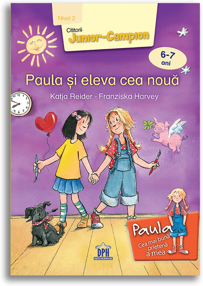 Carte Paula si eleva cea noua - nivel 2, Editura DPH