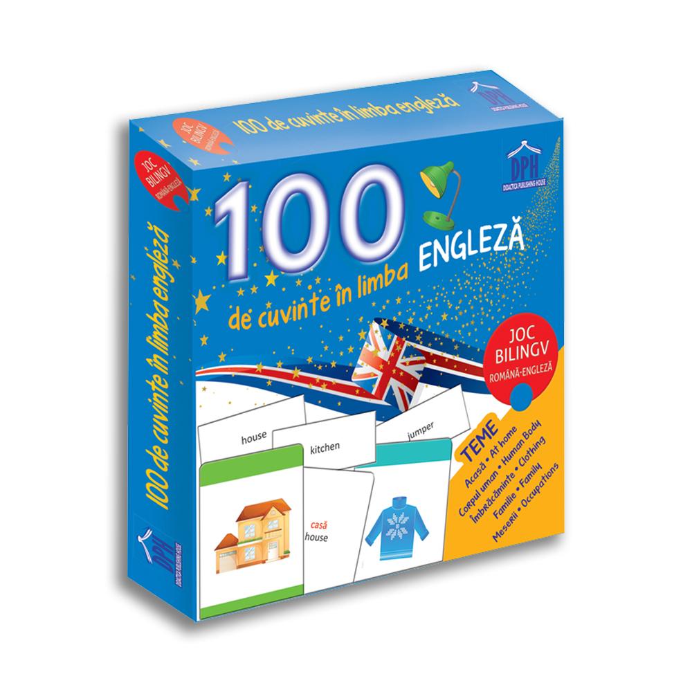 100 de cuvinte in Limba Engleza - joc bilingv, Editura DPH
