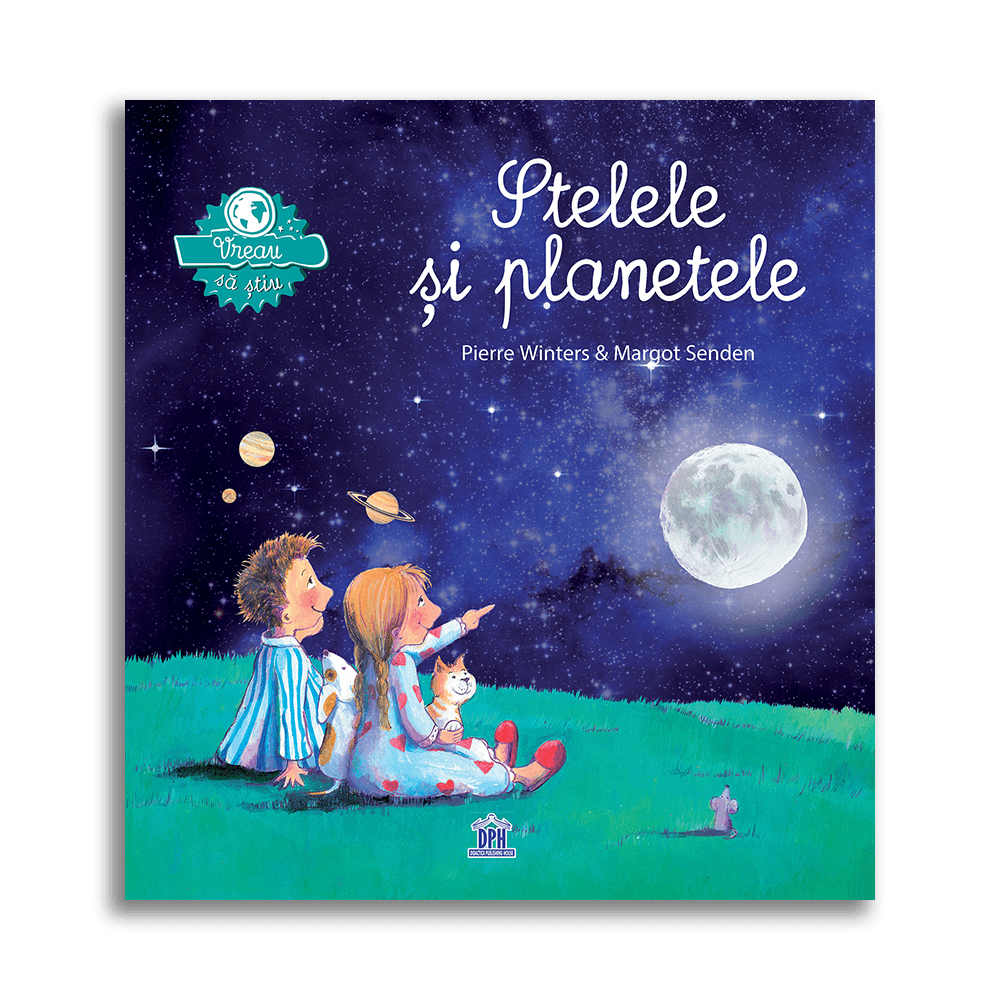 Carte Vreau sa stiu - Stelele si planetele, Editura DPH