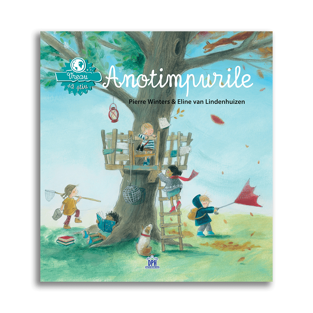 Carte Vreau sa stiu - Anotimpurile, Editura DPH