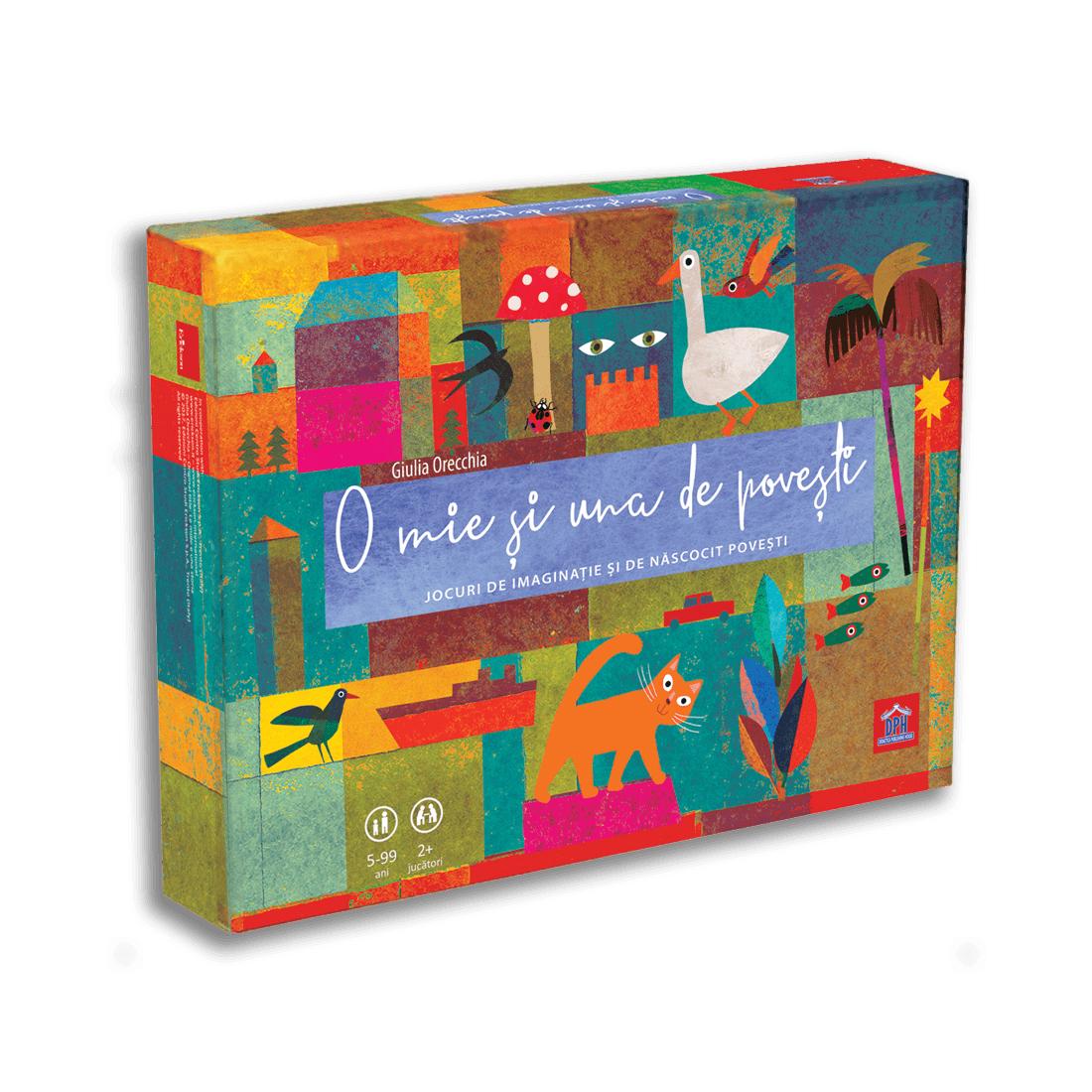 Joc educativ Editura DPH, O mie si una de povesti, Jocuri de imaginatie