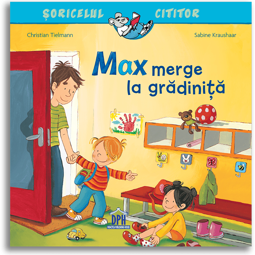 Carte Max merge la gradinita, Editura DPH imagine 2021