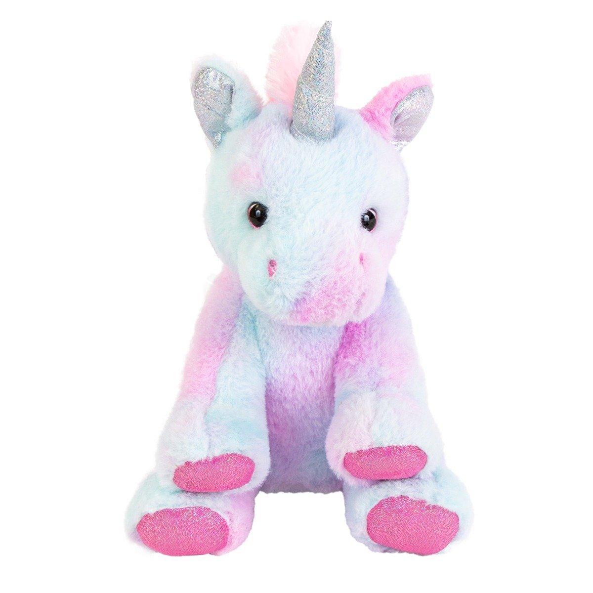 Jucarie de plus, Noriel, Unicorn multicolor 30 cm