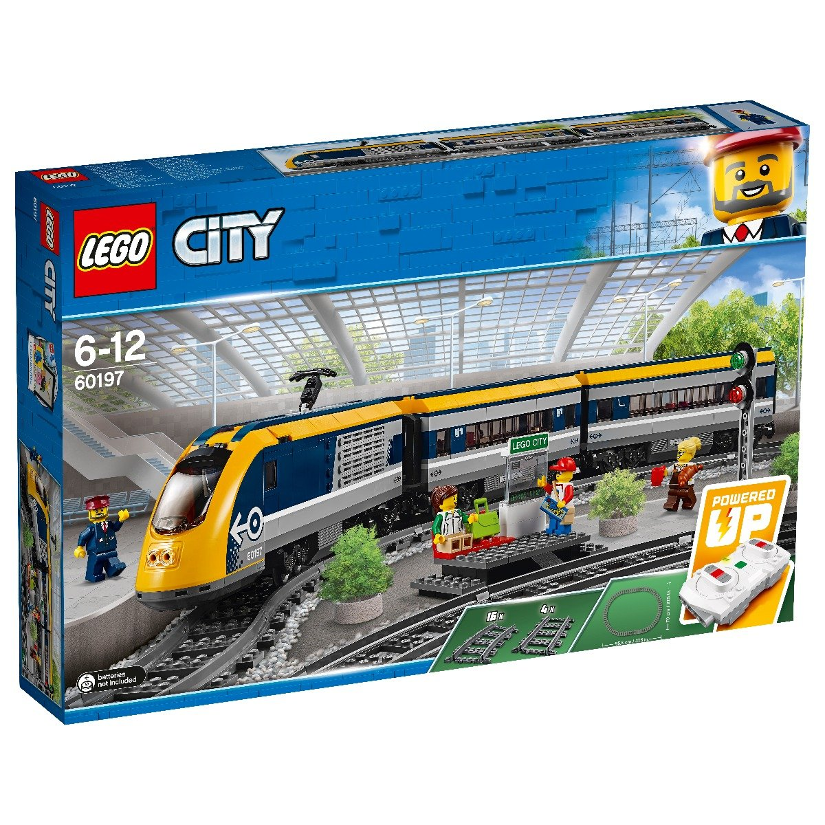 LEGO® City - Tren de calatori (60197)