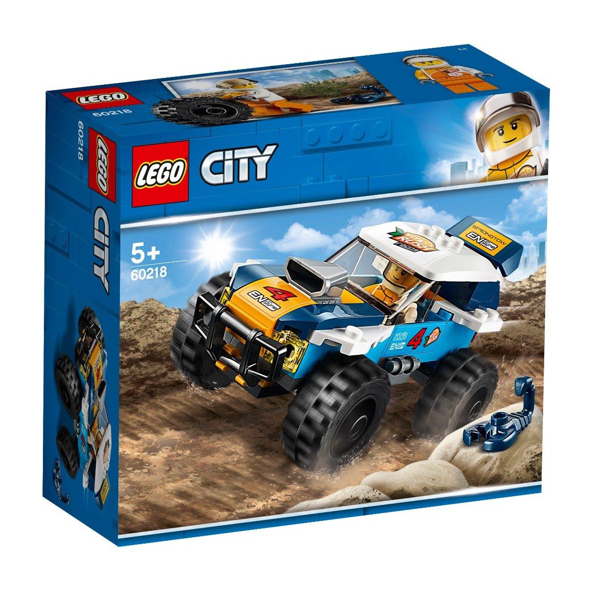 LEGO® City - Masina de raliu din desert (60218)