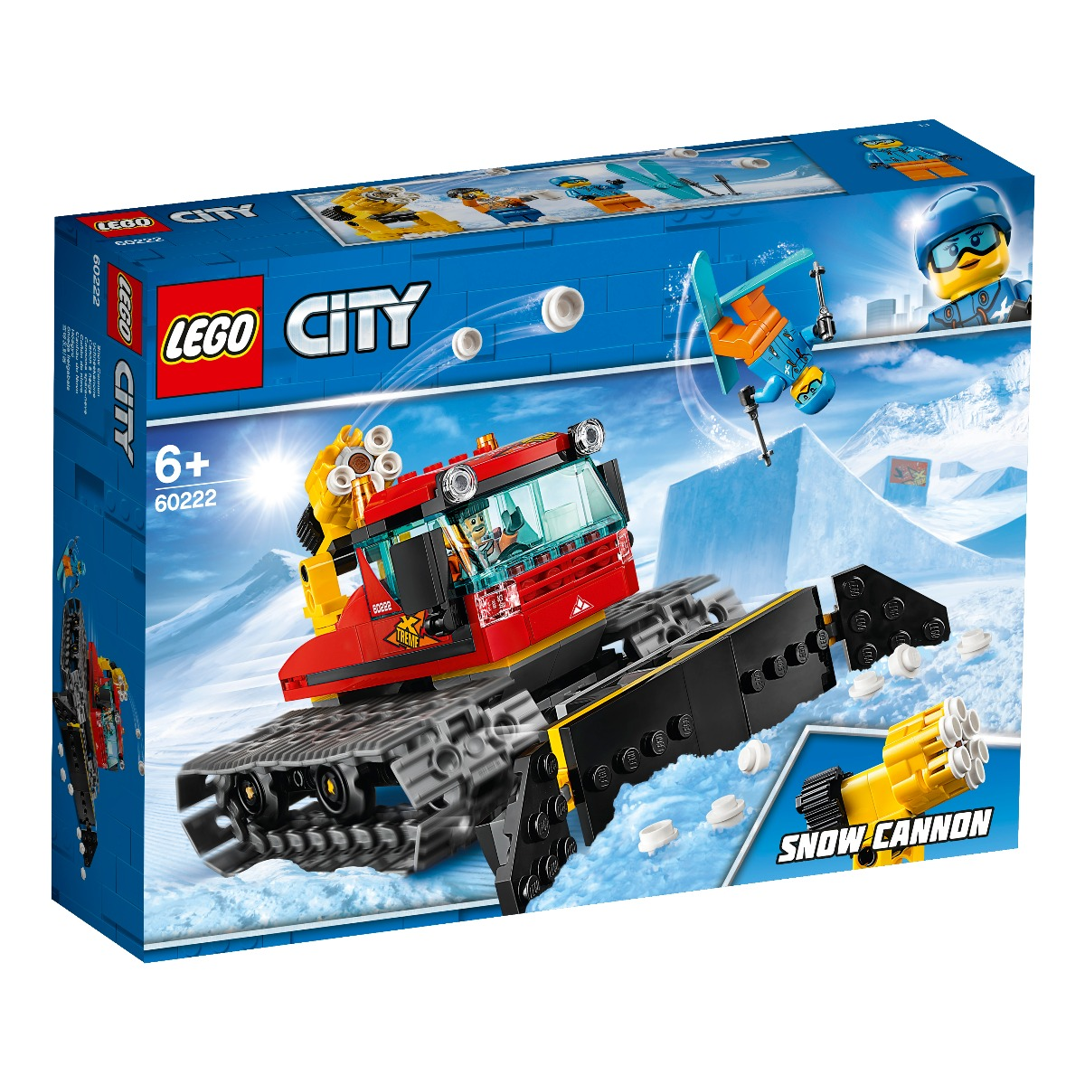 LEGO® City - Compactor de zapada (60222)