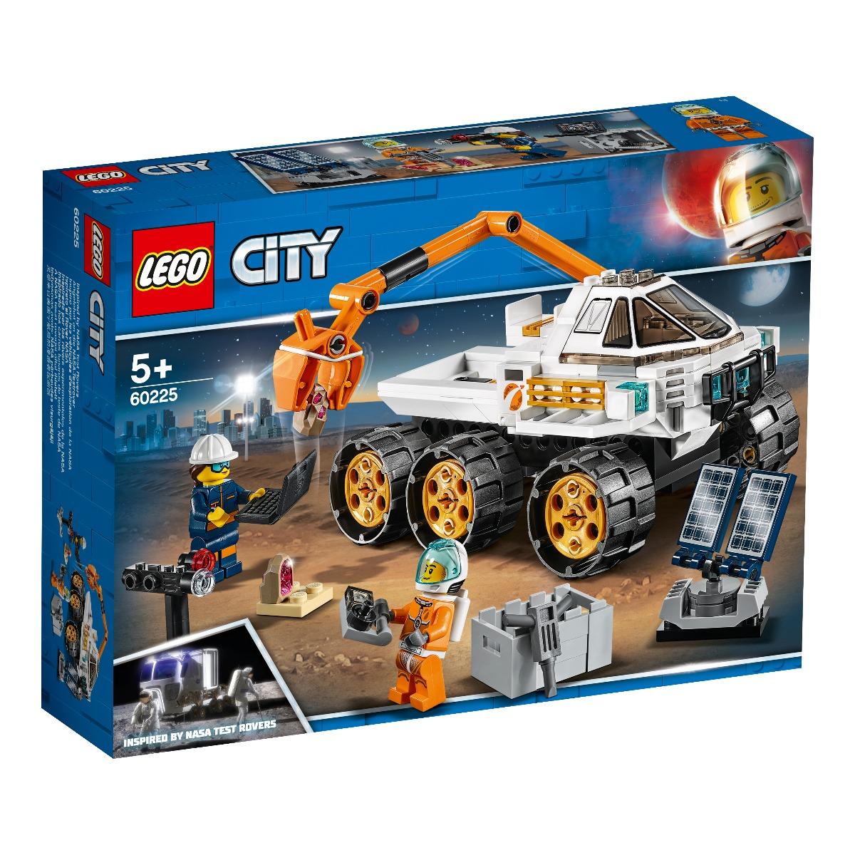 LEGO® City - Space Port - Cursa de testare pentru Rover (60225)