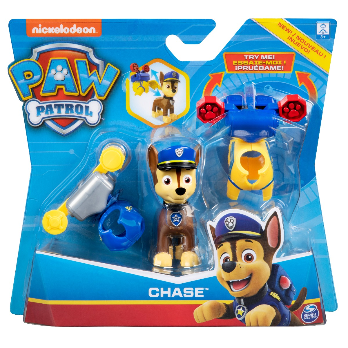 Figurina Paw Patrol Paw Dressup - Chase (20114270)