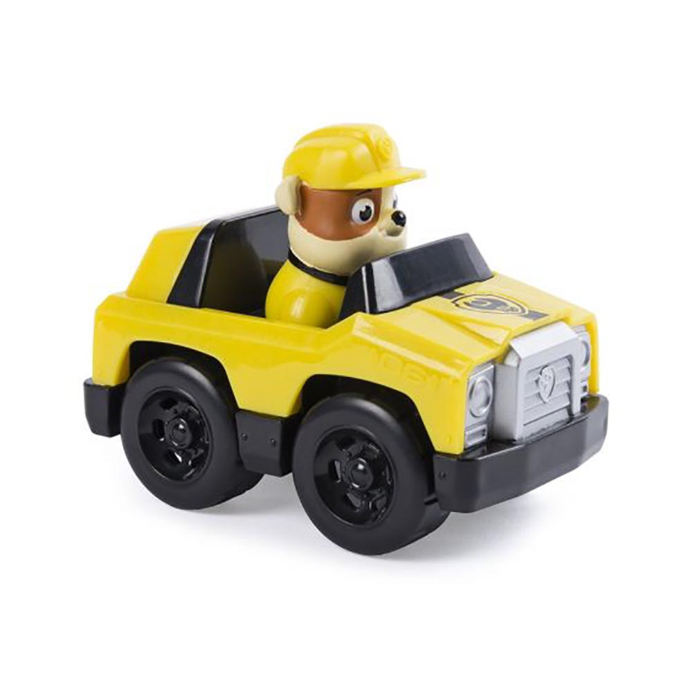 figurina de salvare paw patrol - roadster rubble