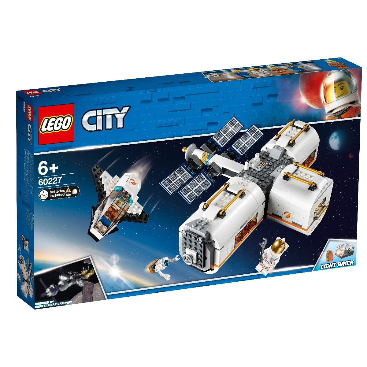 LEGO® City - Space Port - Statie spatiala lunara (60227)