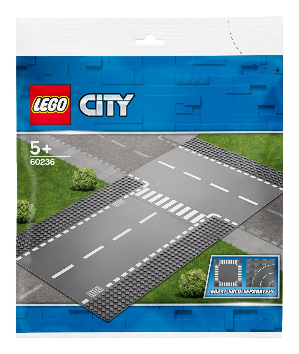 LEGO® City - Intersectie dreapta si in