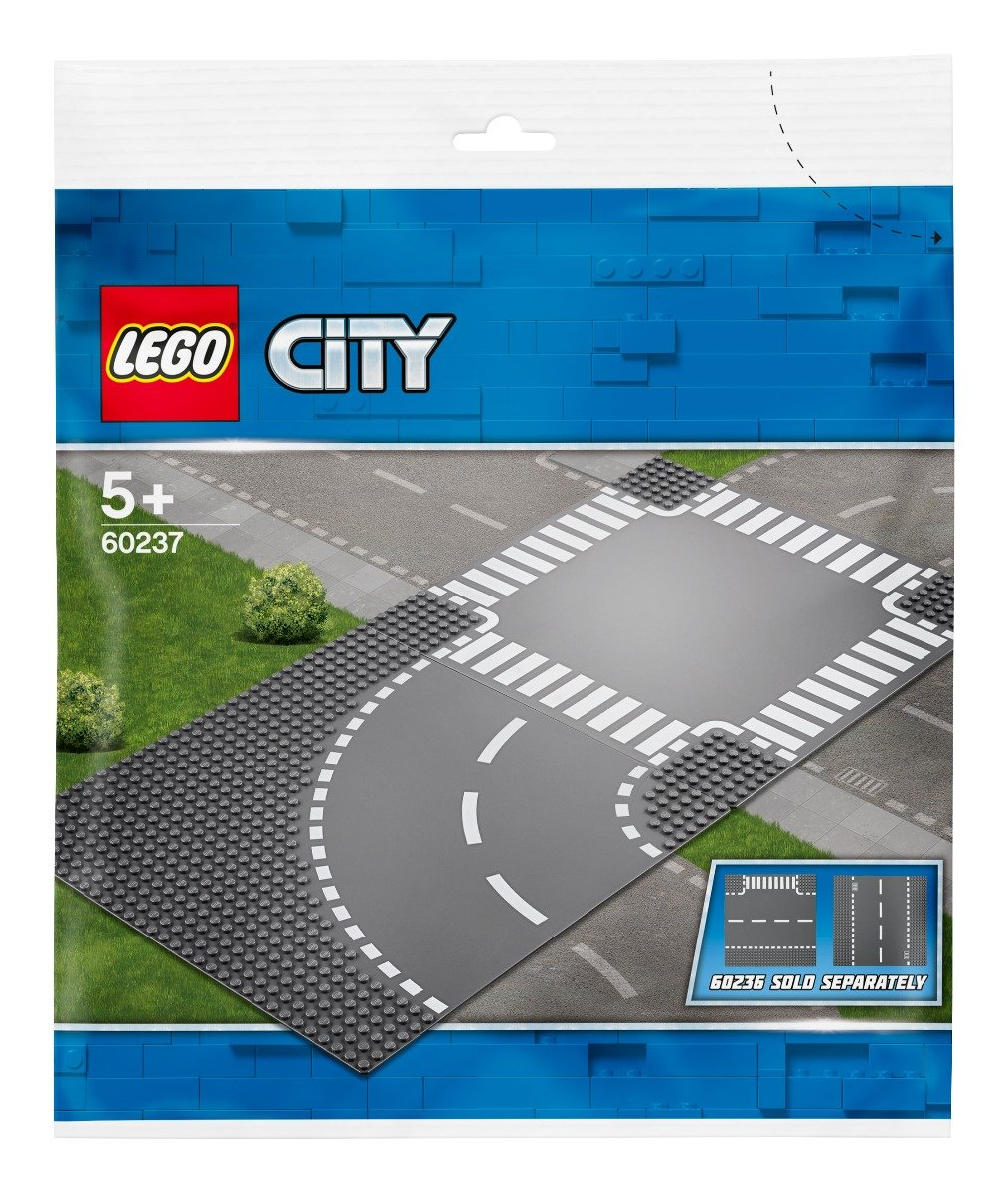 LEGO® City - Curba si intersectie (60237)