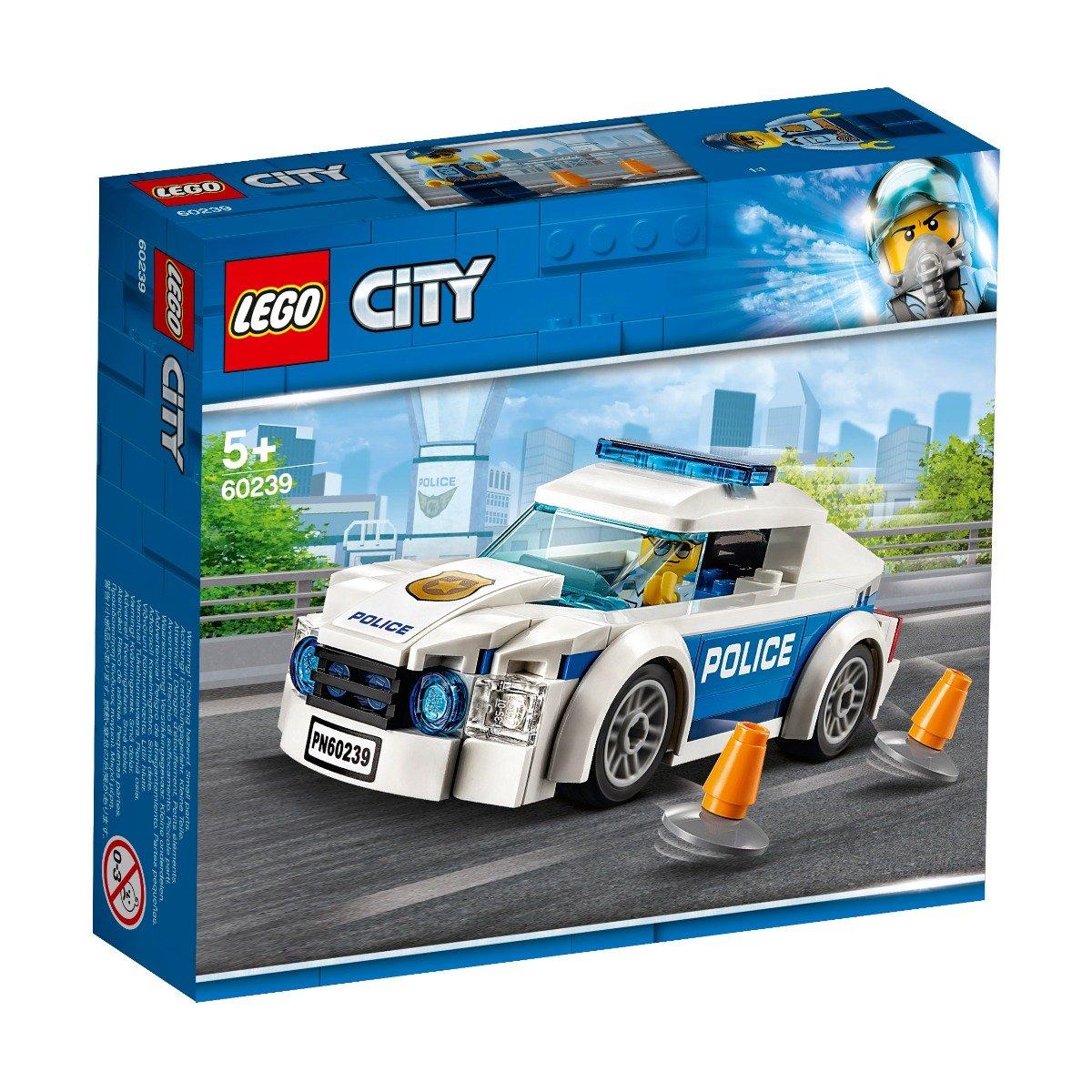 LEGO® City - Masina de politie pentru patrulare (60239)