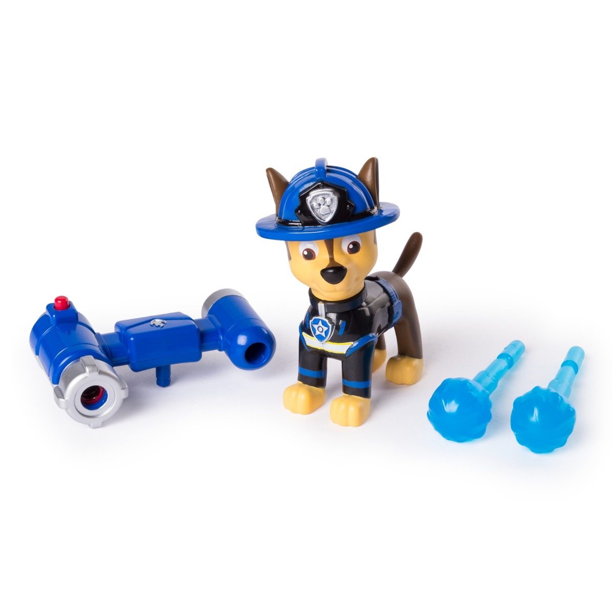 Figurina Paw Patrol Hero Pup, Fire Rescue, Chase, 20103599
