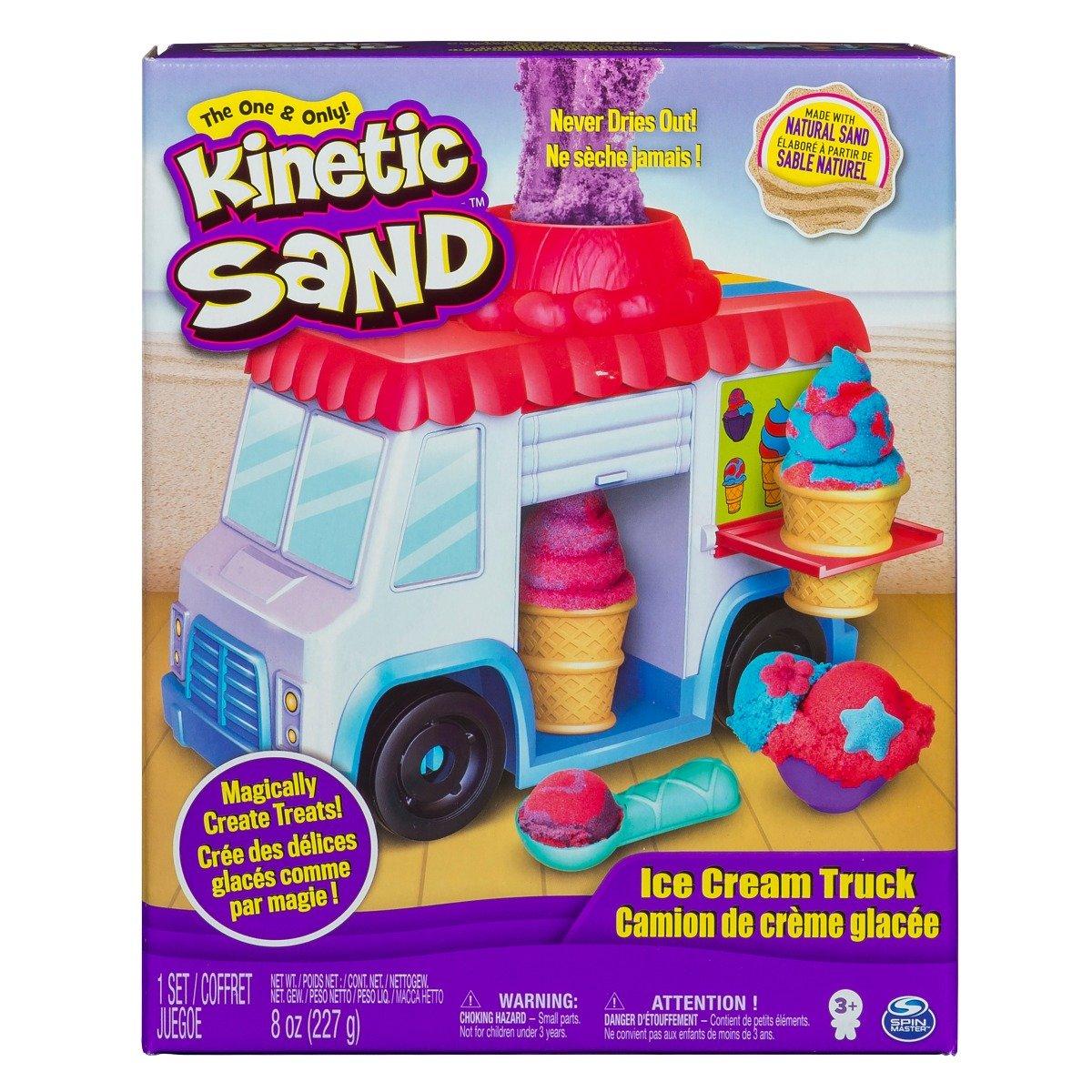 Kinetic Sand - Masina de inghetata