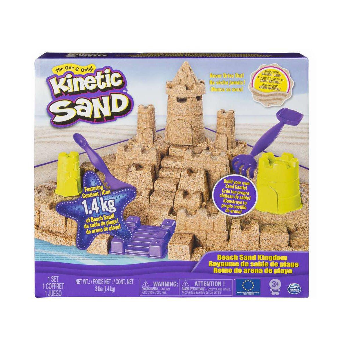 Set Kinetic sand - Castelul de nisip, 1.4 Kg