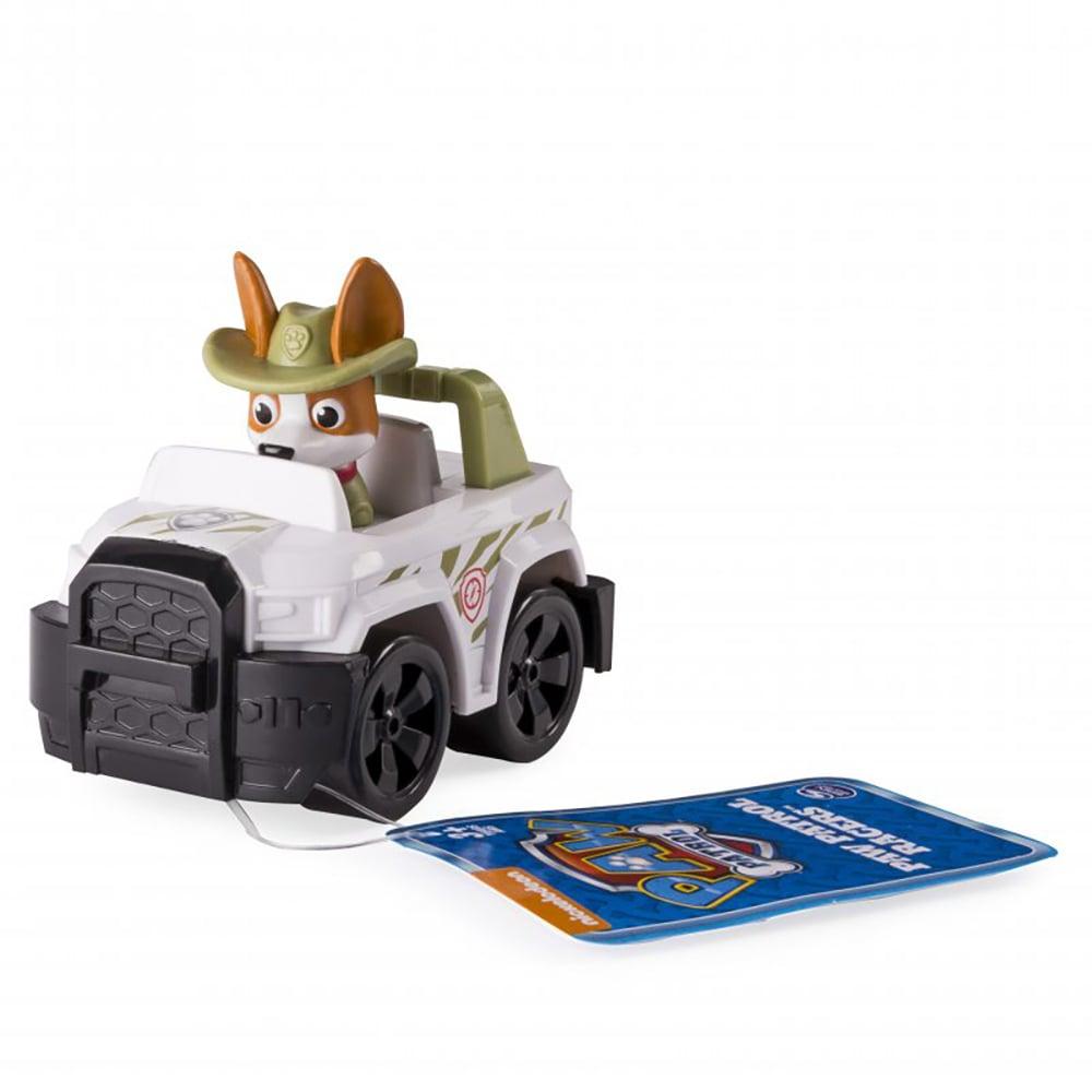 Figurina cu vehicul de salvare Paw Patrol - Tracker, 20106653