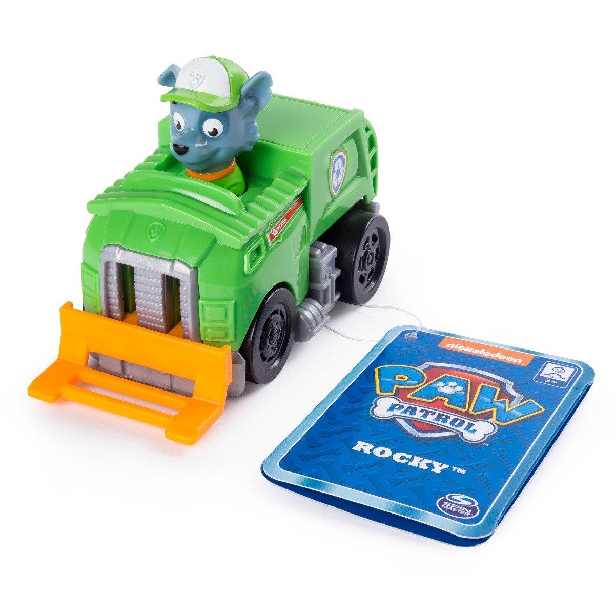 Figurina cu vehicul de salvare Paw Patrol - Rocky (20106660)