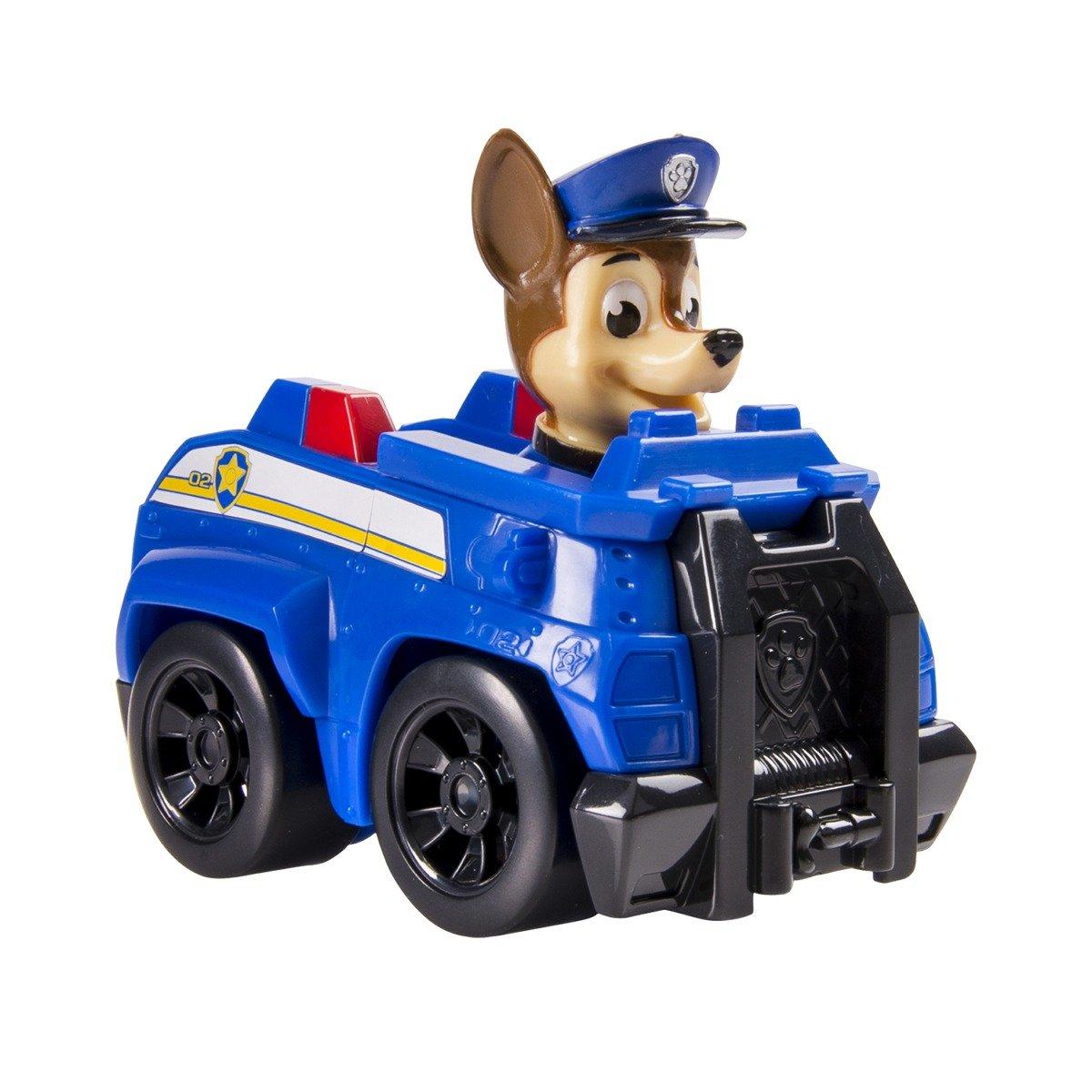 Figurina cu vehicul de salvare Paw Patrol, Chase Police