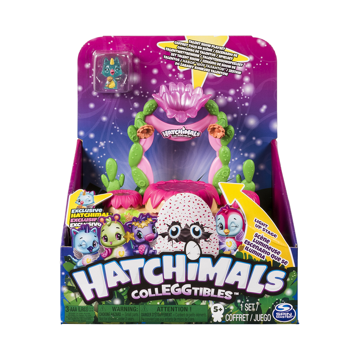 Set de joaca Hatchimals, Nisipuri sclipitoare S6