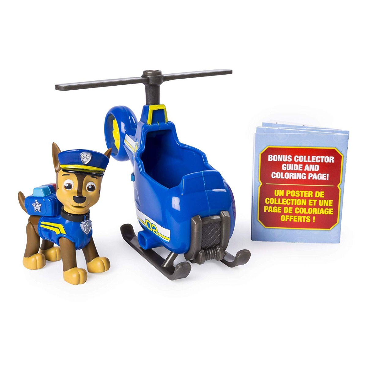 Set figurina si mini vehicul Paw Patrol Ultimate, Chase, 20101478