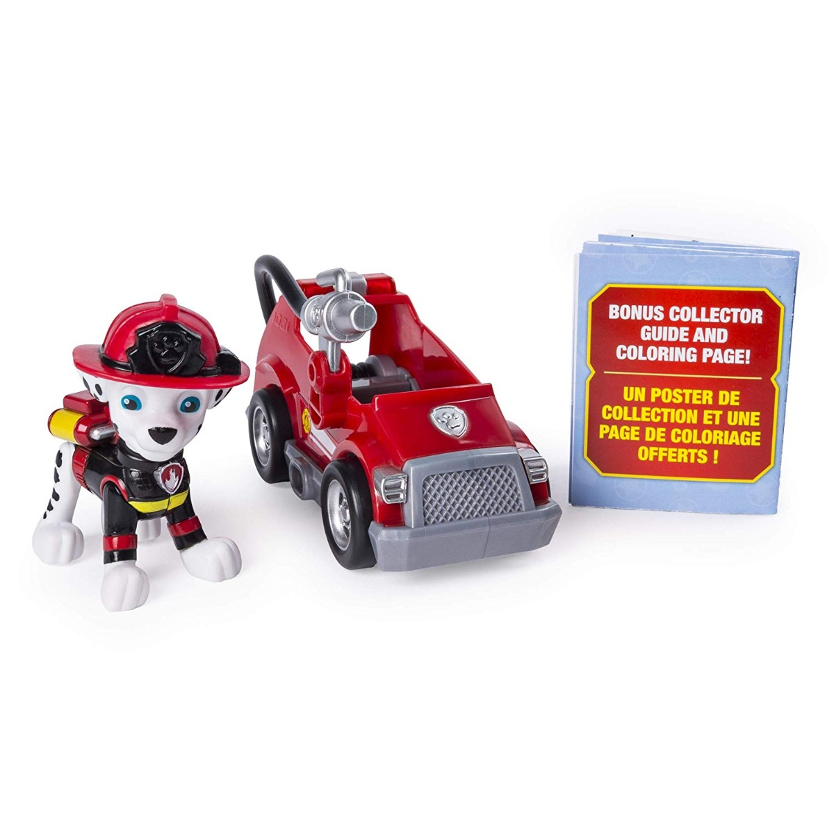 Set figurina si mini vehicul Paw Patrol Ultimate, Marshal, 20101480